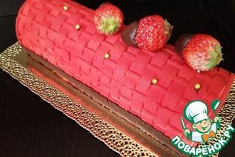 """Торт """"Малиновый ноктюрн"""""""