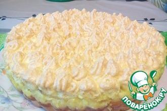 Влажный грушевый пирог