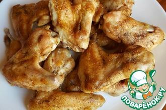Крылья куриные в духовке