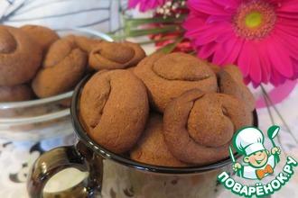 Черёмуховое печенье