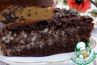 Торт шоколадный «Ретро»