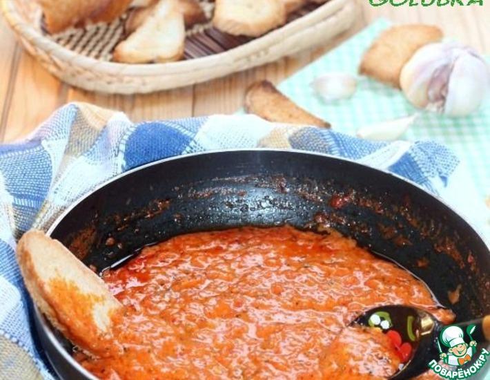 Соус из жареного перечного перца