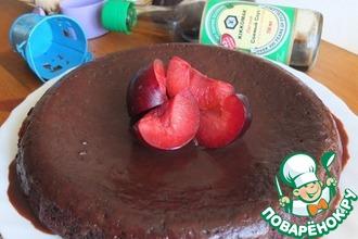 Свекольный пирог с пикантным черносливом
