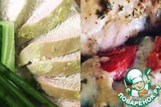 Легкий ужин из курицы или индейки