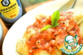 Картофельные ньоки в легком помидорном соусе