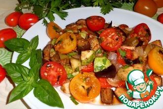 Овощи в соево-чесночном соусе