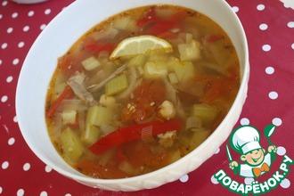 "Суп с кабачками ""Кабаклама"""