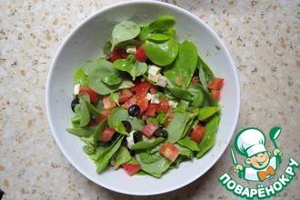 Салат с толстянкой