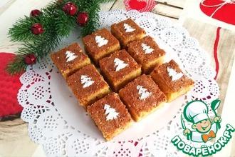 Манный пирог в медовом сиропе