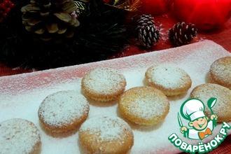 Цитрусовые мини-кексы с кокосом