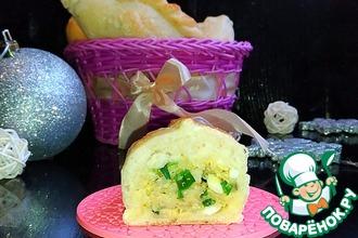 """Пирожки с рисом и яйцом """"Застольные"""""""