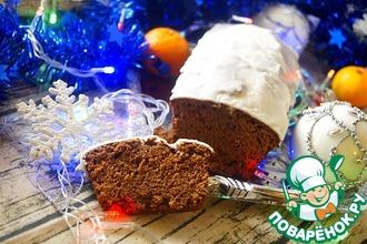 """Пряничный кекс """"Новогоднее чудо"""""""