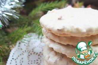 Хрустящее ореховое печенье