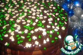 """Торт """"Новогоднее настроение"""""""