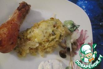 Лапша картофельная с курицей