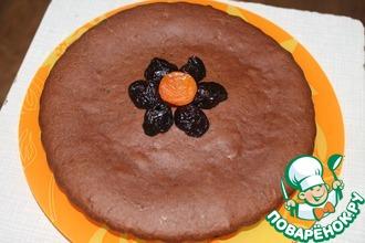 """Постный торт-пирог """"Сказка"""""""