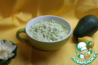 Мамин салат из авокадо
