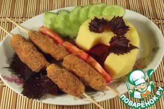 Наггетсы рубленые с сыром