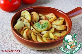 Картофель с кленовым сиропом и горчицей
