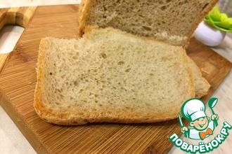 Французкий хлеб с ржаной мукой