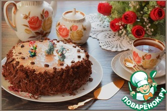 """Торт """"Кофейный шоколад"""""""