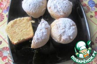 Лимонные булочки-кексы