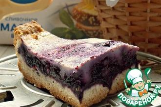 Тирольский черничный пирог