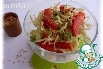 Оригинальная заправка для овощных салатов
