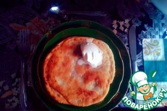 Пирожки с мясом «Солнышко»