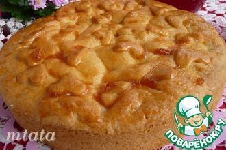 Быстрый закрытый яблочный пирог