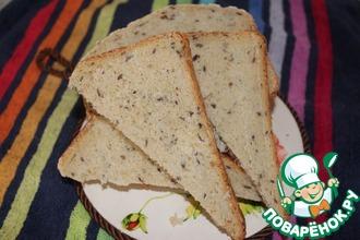 Овсяный хлеб с семенами льна