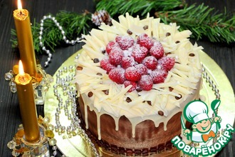 "Торт ""Рождественский вечер"""