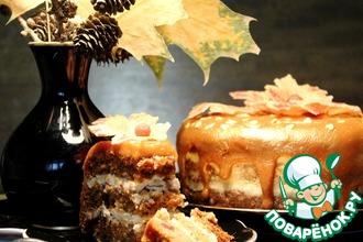 """Торт """"Осень золотая"""""""