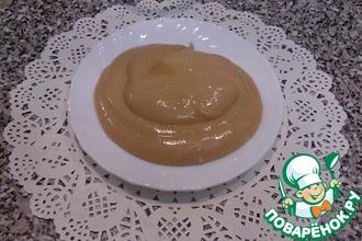 Карамельно-заварной крем-мусс для торта