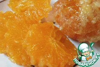 Засахаренные мандарины