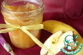 Яблочно-банановое повидло с ромом