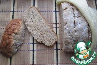Домашний хлеб с салом