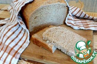 Хлеб на йогурте с цельнозерновой мукой