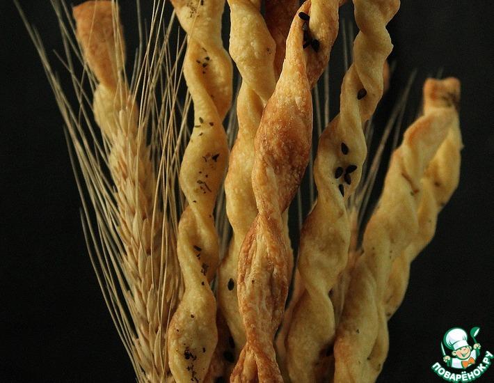 """Итальянские хлебные палочки """"Гриссини"""""""