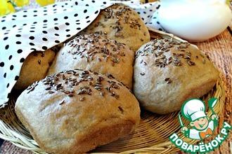 Хлебные булочки на сливках