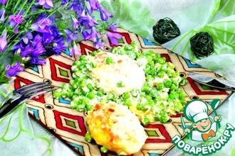 Котлеты куриные с картофелем и рисом