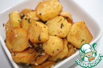 Пряный картофель по-ливански