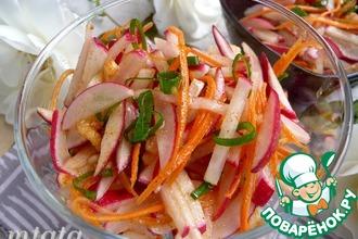 Салат из редиса по-корейски