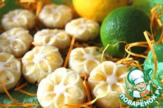 Лимонно-лаймовое печенье