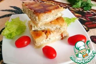 Капустные сандвичи с сыром и чесноком