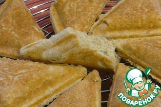 Бездрожжевой хлеб в сэндвичнице