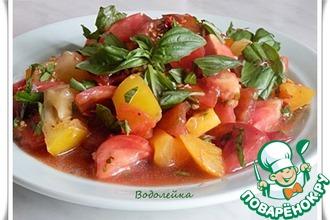 Салат из помидоров от Дж. Оливера