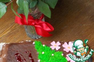 Бисквитный мох для декора