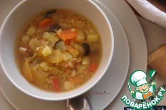 Суп с персидской чечевицей