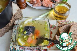 Рыбный суп с булгуром